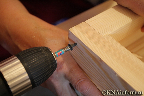 Как сделать деревянную рамку для дверки